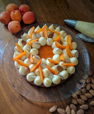 Tarte abricot et amande